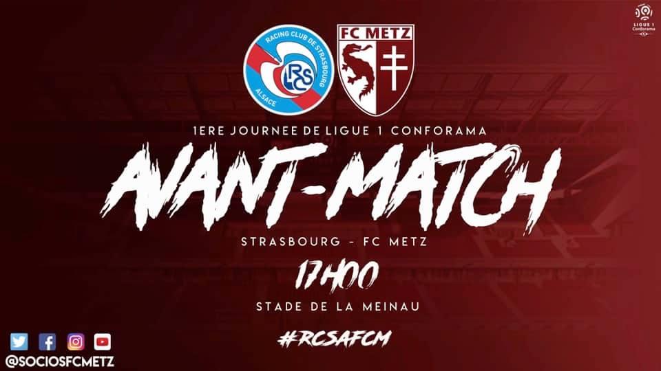 avant match #RCSAFCM